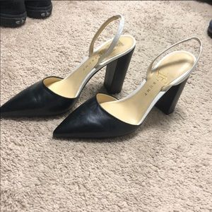 a351c15817e Women s Black And White Ivanka Trump Heels on Poshmark